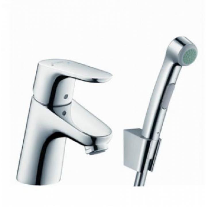 Focus Смеситель для умывальника c гигиеническим душем