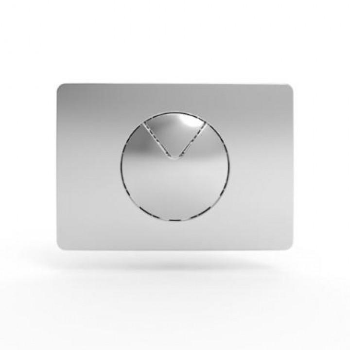 Кнопка матовый хром 702 Sanit