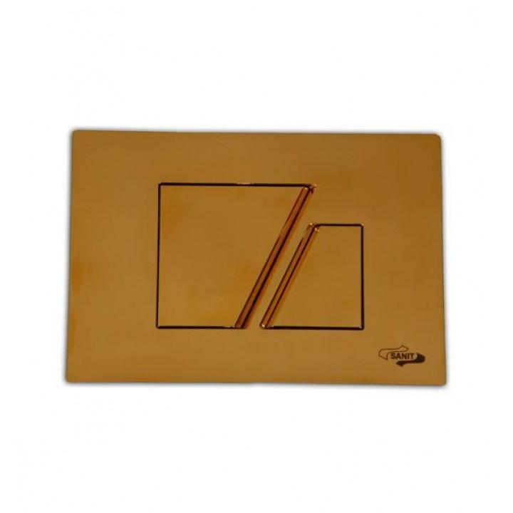 Кнопка золотая 707 Sanit