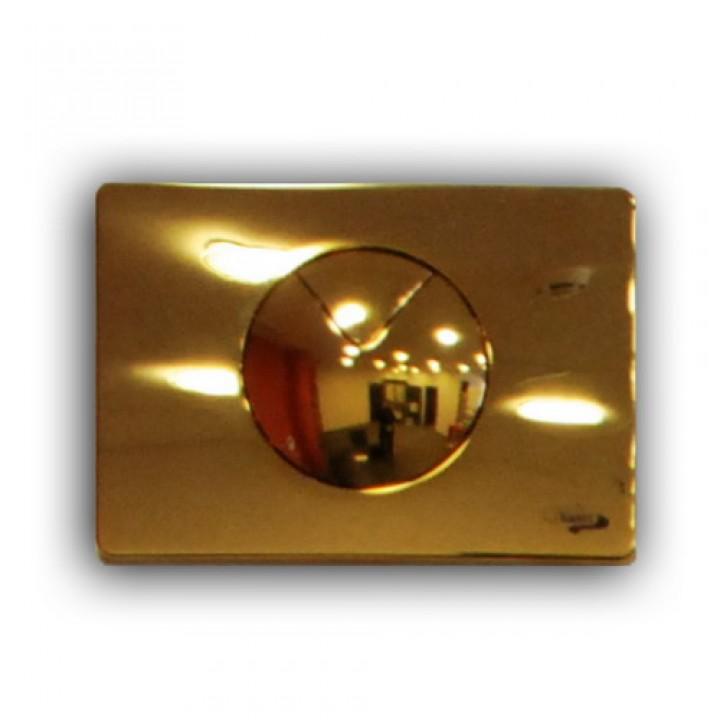 инсталляция для консольного унитаза кнопка золотая 702 Sanit