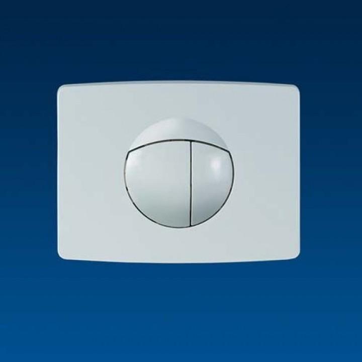 инсталляция для консольного унитаза кнопка для WC белая 701 Sanit