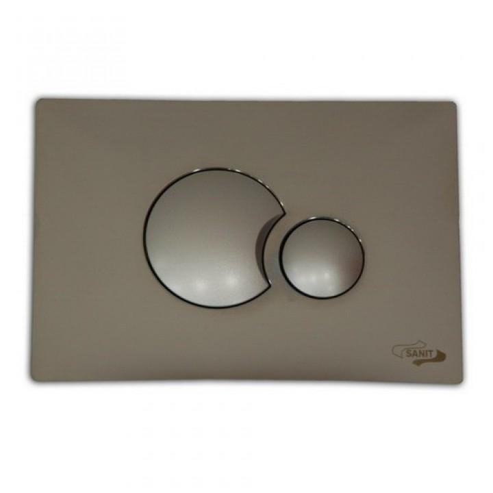 Кнопка матовый хром 706 Sanit