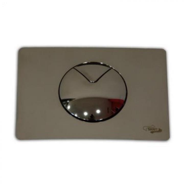инсталляция для консольного унитаза кнопка хром 702 Sanit
